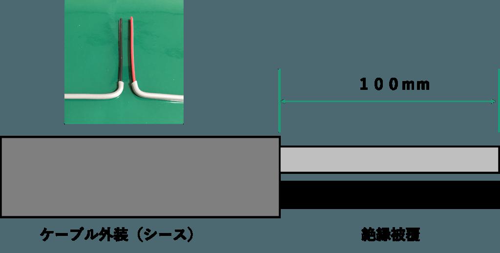 ケーブル被覆の剥ぎ取り寸法とリングスリーブ刻印表│電気の神髄